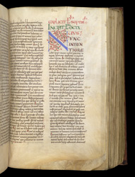 Decorated Initial, In St. Augustine's City Of God f.67r